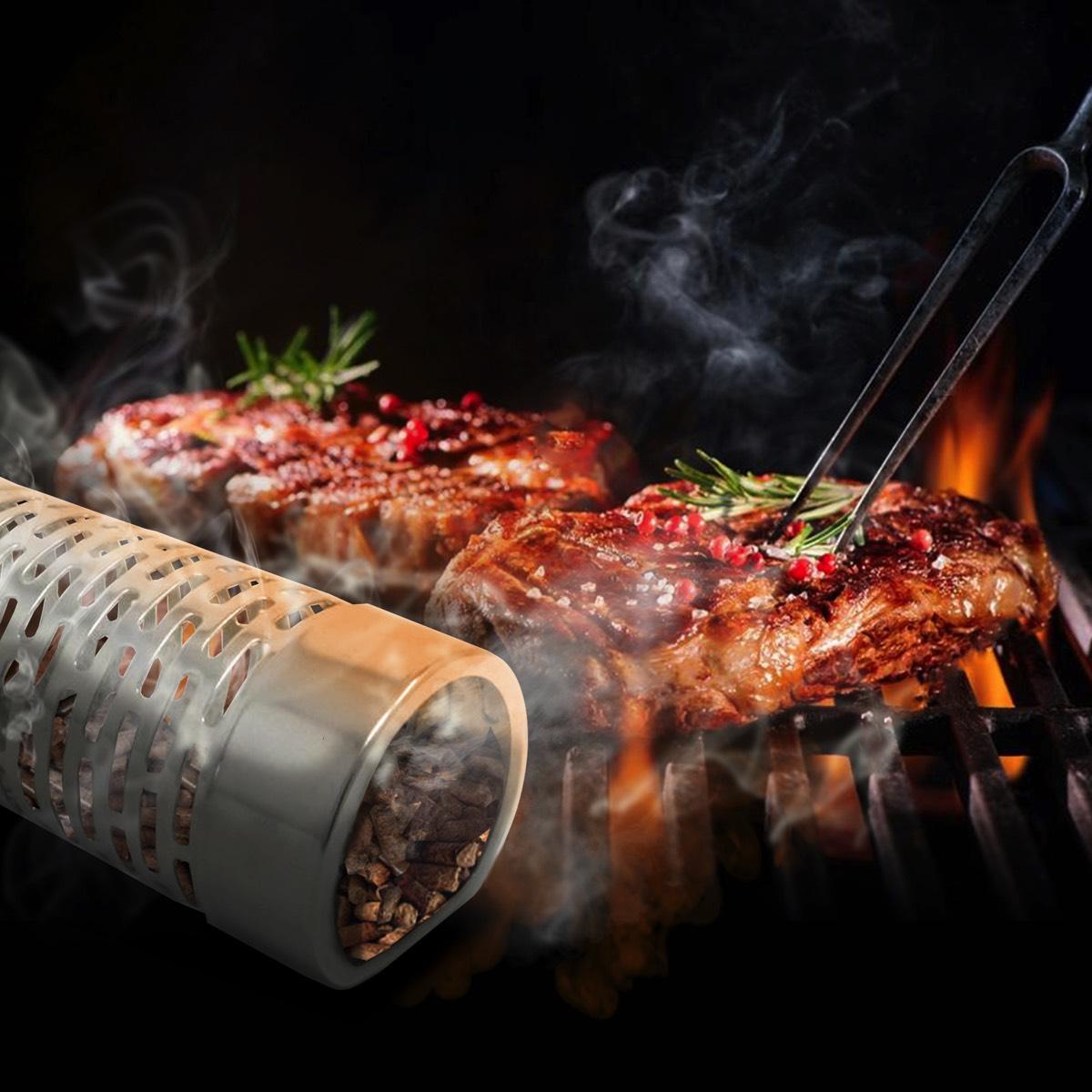 CHERRY Smoking wood chips, for food smokers /& smoke generators, NICE /& CLEAN :-